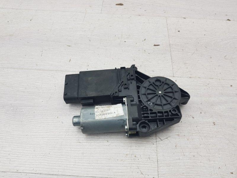 Моторчик стеклоподъемника передний правый Skoda Superb 1 BPZ 2007 (б/у)
