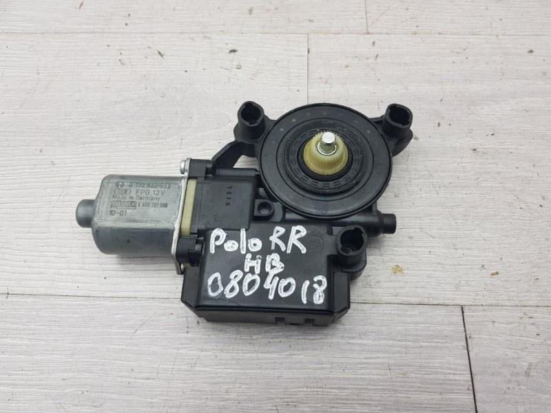 Моторчик задний правый Vw Polo 5 HB CGG 2010 (б/у)