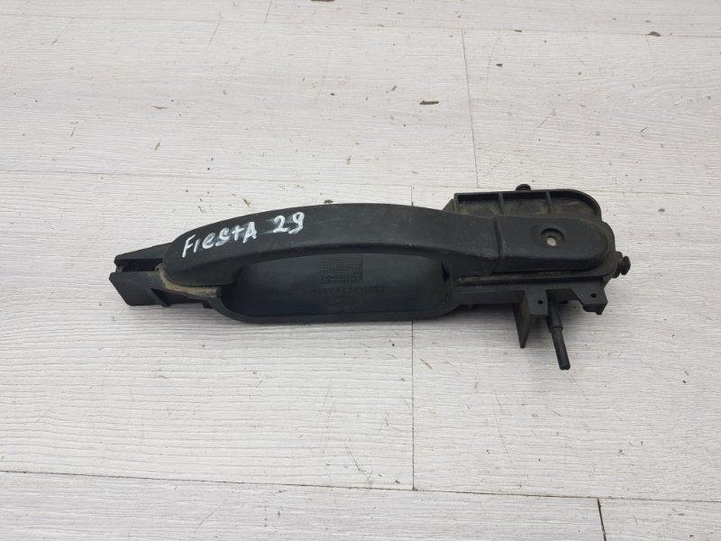 Ручка двери передняя левая Ford Fiesta MK5 FXJB 2005 (б/у)