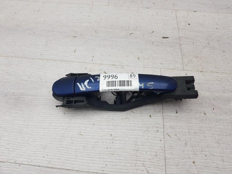 Ручка двери задняя правая Skoda Superb 1 AWT 2006 (б/у)