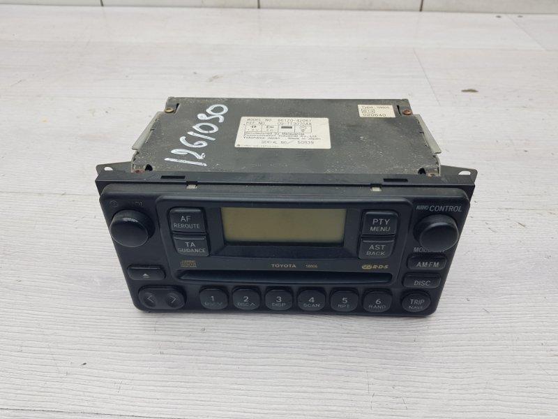 Магнитола Toyota Rav4 XA20 1AZFE 2002 (б/у)