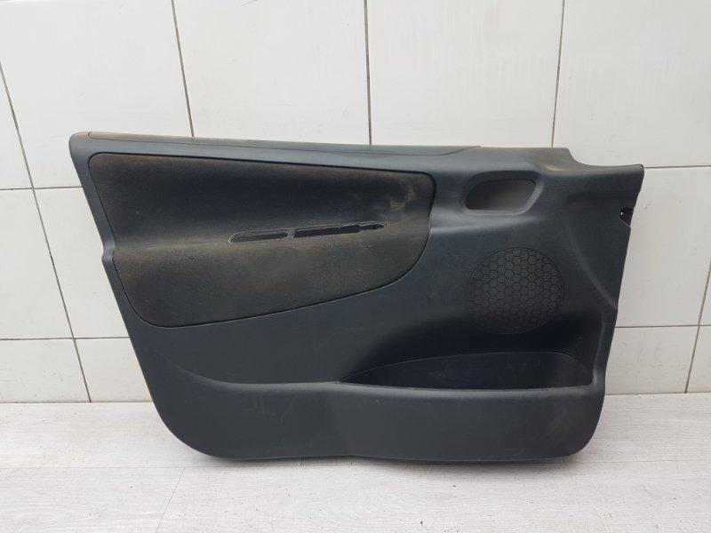 Обшивка двери передняя левая Peugeot 207 EP6 2007 (б/у)