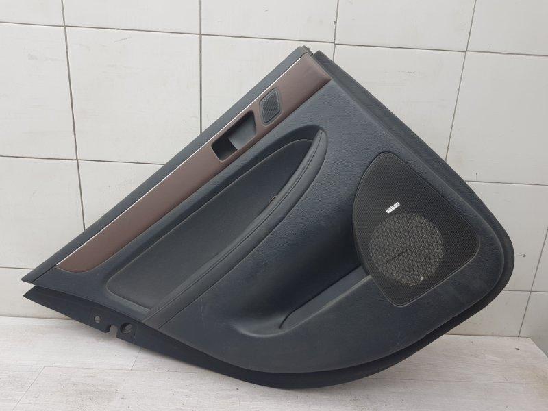 Обшивка двери задняя левая Hyundai Genesis 1 BH G6DA 2008 (б/у)
