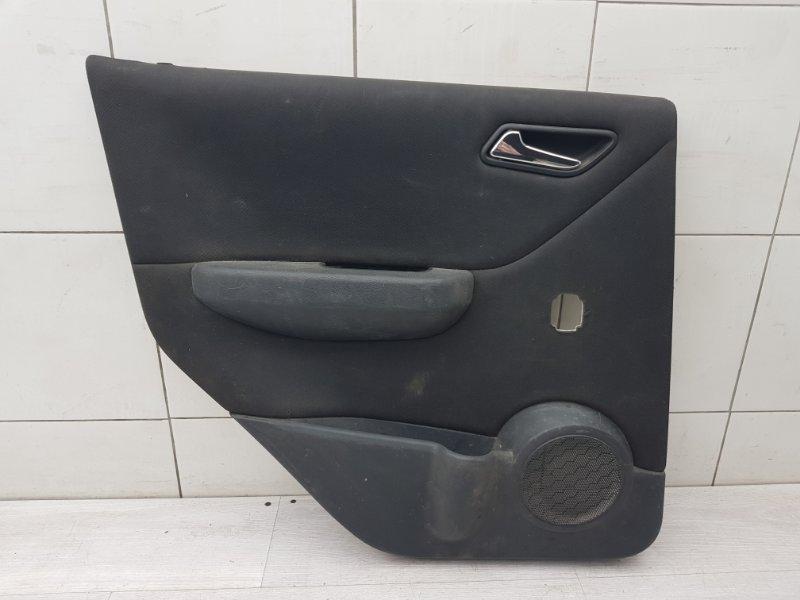 Обшивка двери задняя левая Mercedes A Class W169 M266.920 2007 (б/у)