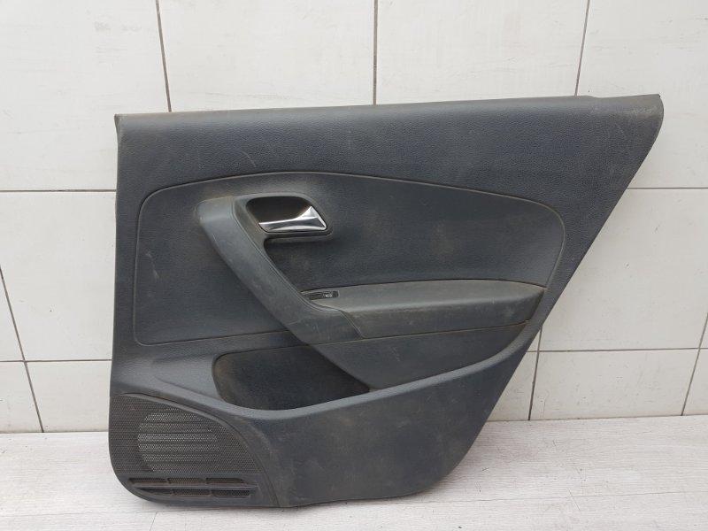 Обшивка двери задняя правая Vw Polo Sedan CFN 2013 (б/у)