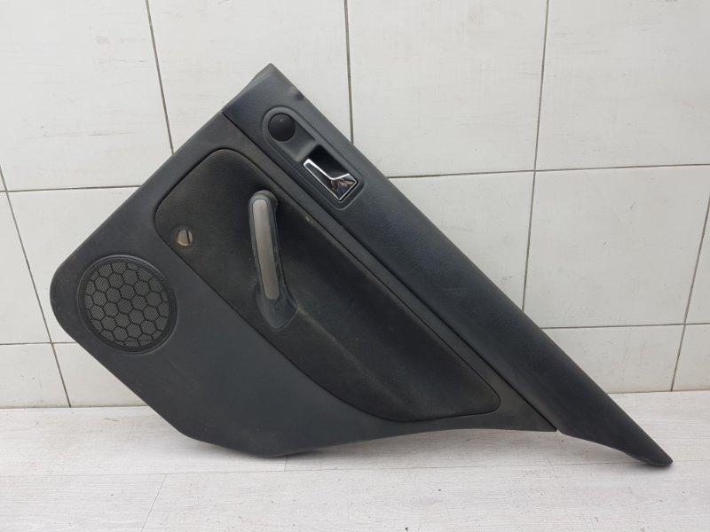 Обшивка двери задняя правая Vw Bora AKL 1999 (б/у)