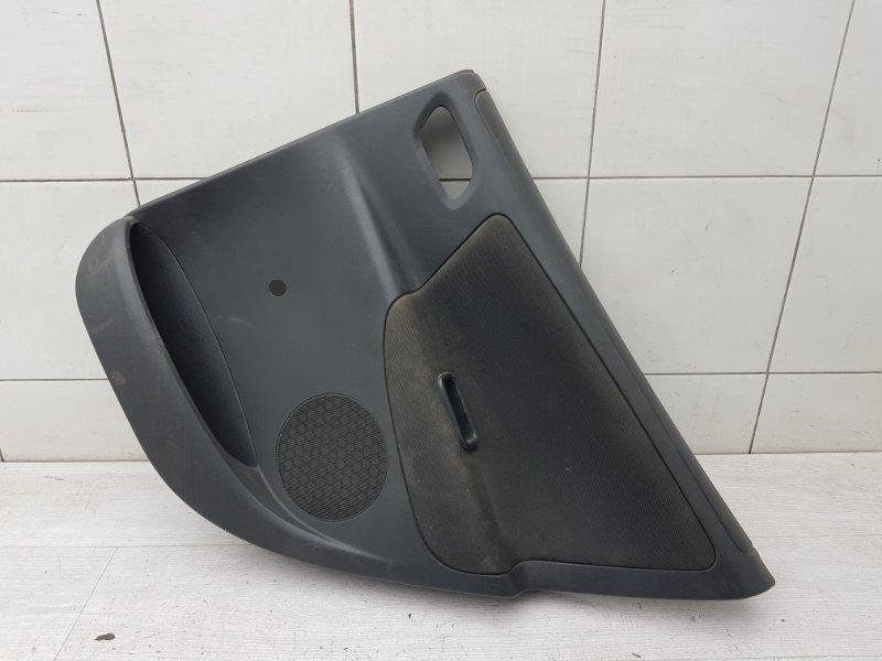 Обшивка двери задняя правая Peugeot 207 EP6 2007 (б/у)