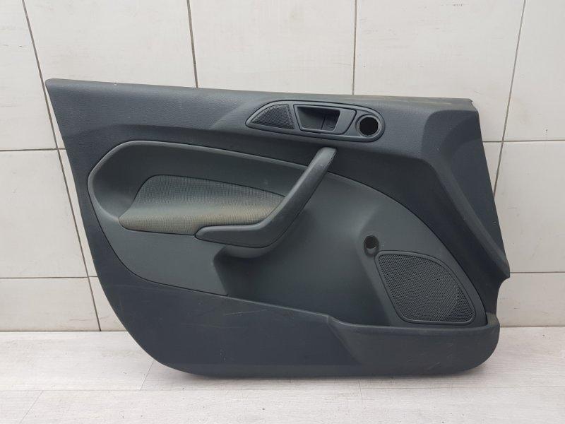 Обшивка двери передняя левая Ford Fiesta MK6 1.25 SIGMA 2010 (б/у)