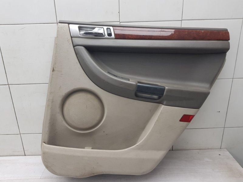 Обшивка двери задняя правая Chrysler Pacifica CS EGN 2003 (б/у)