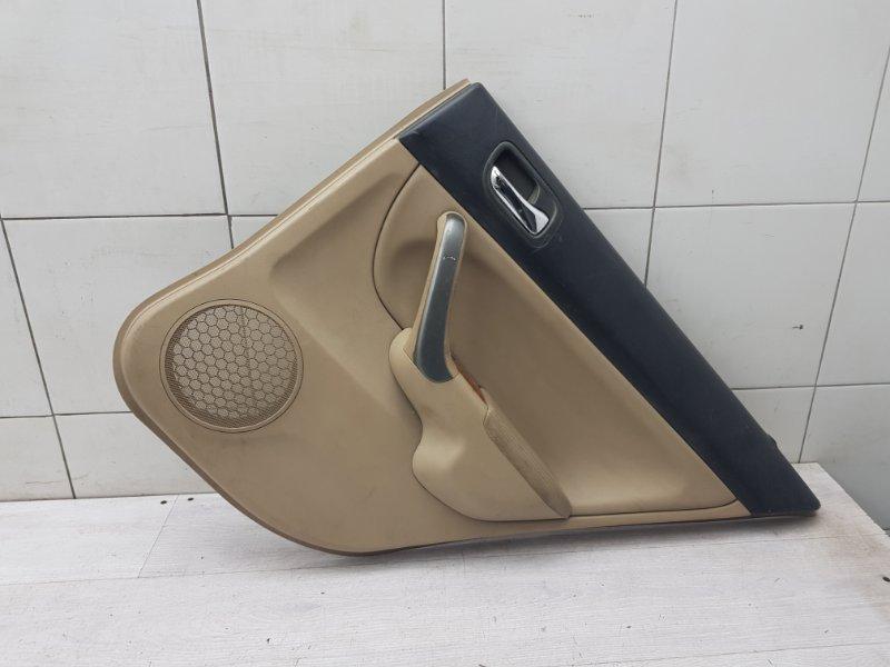 Обшивка двери задняя правая Honda Accord VII K24A 2006 (б/у)