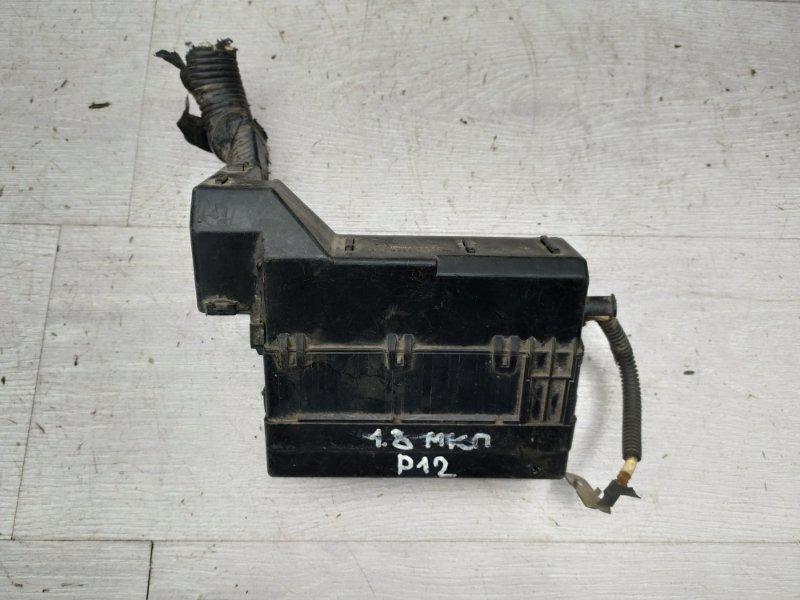 Блок предохранителей моторный Nissan Primera P12 QG18 2004 (б/у)