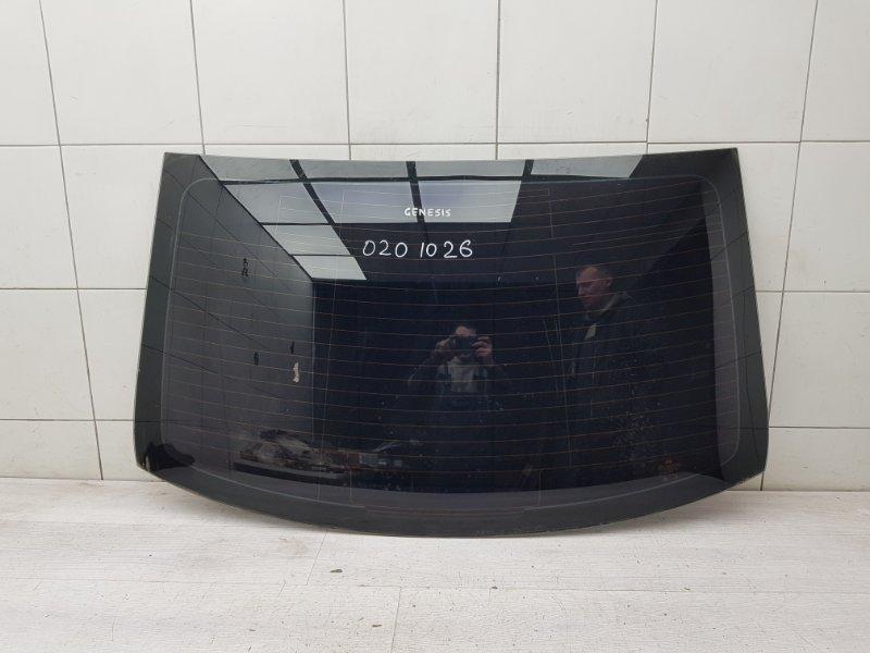 Стекло заднее Hyundai Genesis 1 BH G6DA 2008 (б/у)