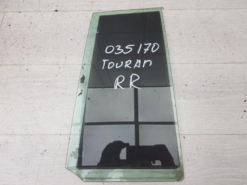 Форточка задняя правая Vw Touran CAV 2012 (б/у)