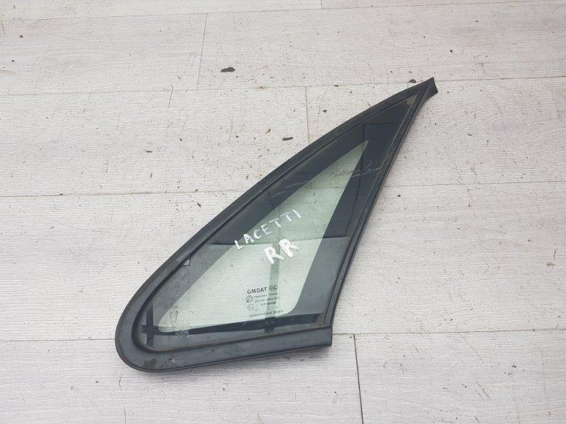 Форточка задняя правая Chevrolet Lacetti F14D3 2008 (б/у)