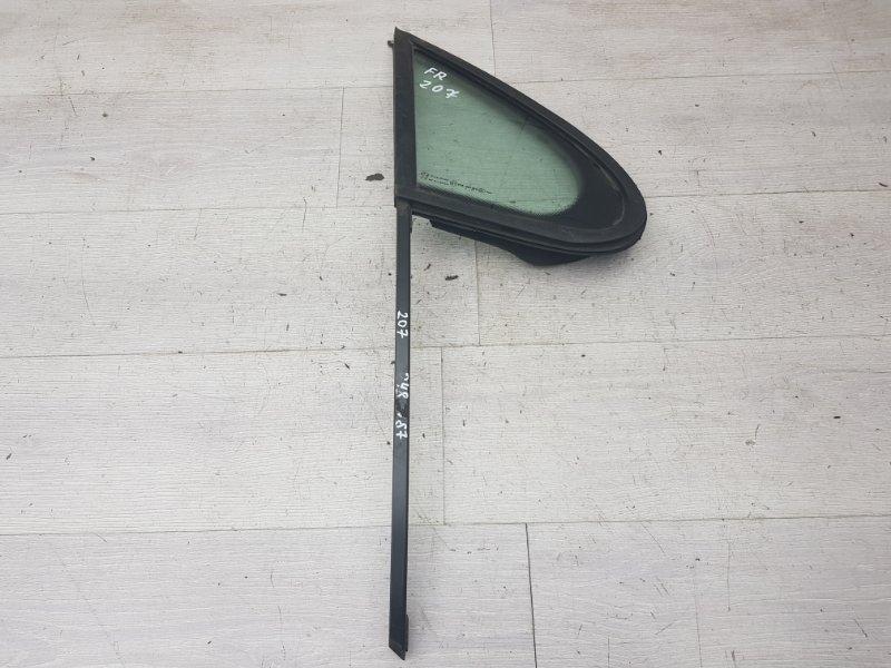 Форточка передняя правая Peugeot 207 EP6 2007 (б/у)