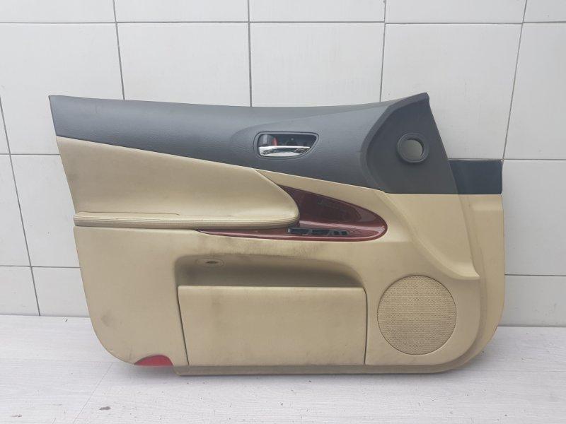 Обшивка двери передняя левая Lexus Gs GRS190 3GR-FSE 2005 (б/у)