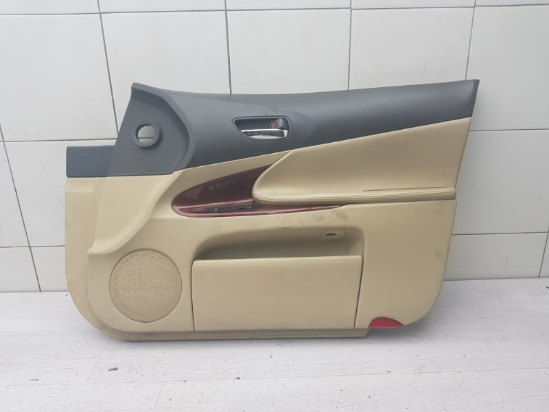 Обшивка двери передняя правая Lexus Gs GRS190 3GR-FSE 2005 (б/у)