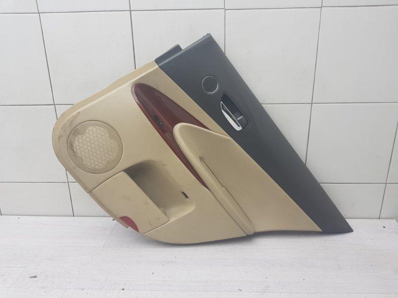 Обшивка двери задняя правая Lexus Gs GRS190 3GR-FSE 2005 (б/у)