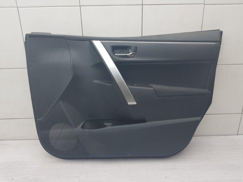 Обшивка двери передняя правая Toyota Corolla E180 1ZR-FE 2014 (б/у)