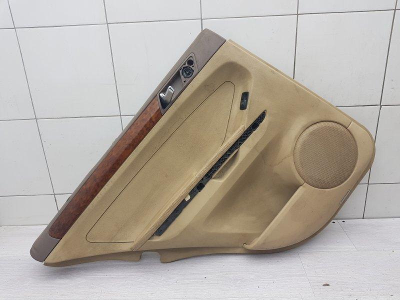 Обшивка двери задняя левая Mercedes Ml W164 (б/у)