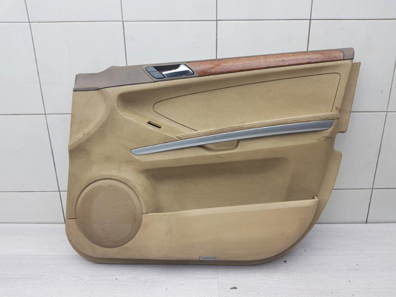 Обшивка двери передняя правая Mercedes Ml W164 (б/у)