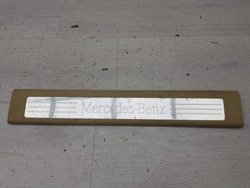 Накладка порога Mercedes Ml W164 задняя правая (б/у)