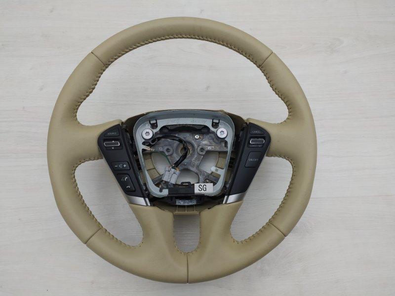 Мульти-руль кожаный Nissan Teana J32