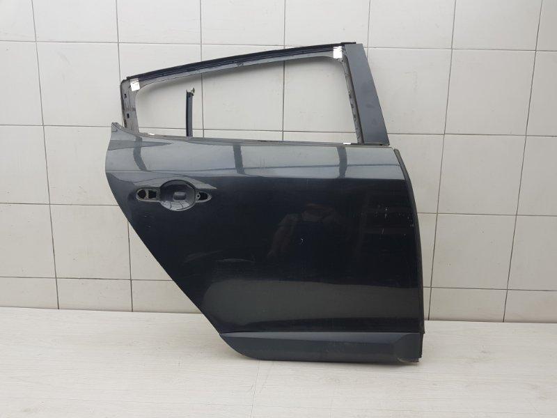 Дверь задняя правая Renault Megane 3 K4M 2012 (б/у)