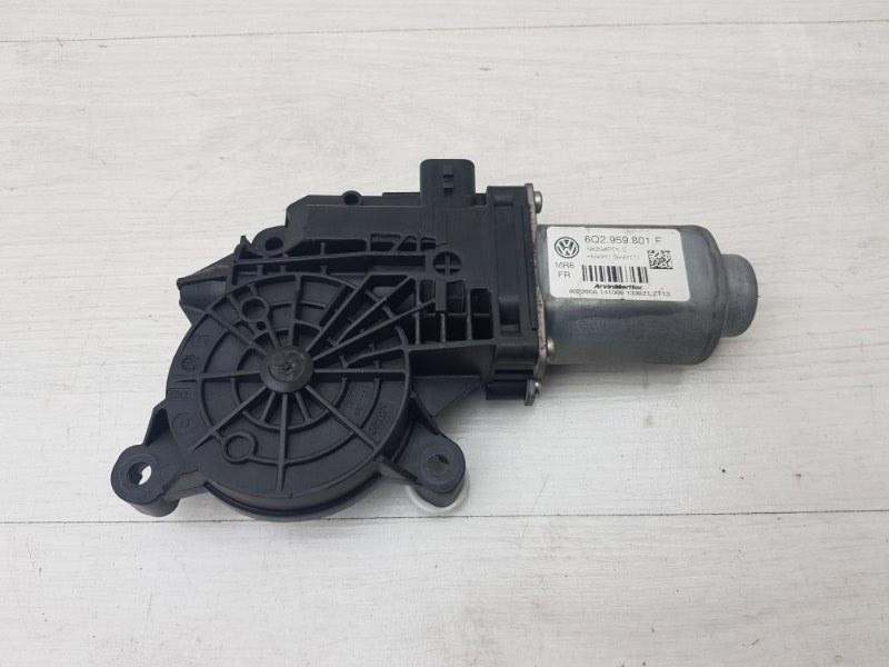 Моторчик стеклоподъемника передний правый Skoda Roomster 1 BMS 2009 (б/у)