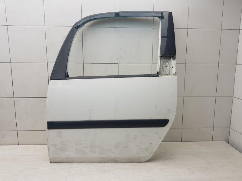 Дверь задняя левая Skoda Roomster 1 BMS 2009 (б/у)