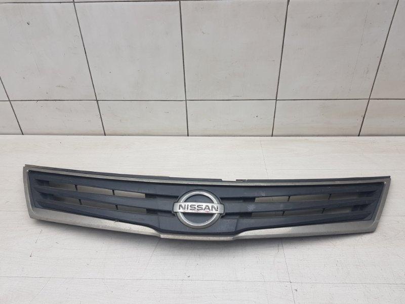 Решетка радиатора Nissan Tiida C11 HR16DE 2011 (б/у)