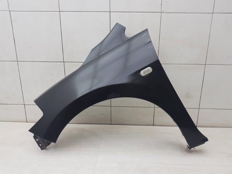 Крыло переднее левое Nissan Tiida C11 HR16DE 2011 (б/у)
