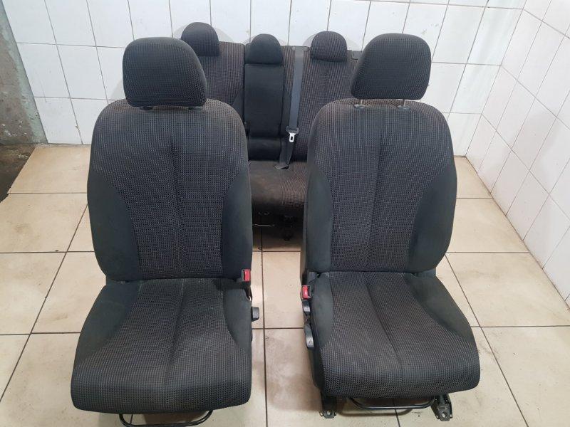Комплект сидений Nissan Tiida C11 HR16DE 2011 (б/у)