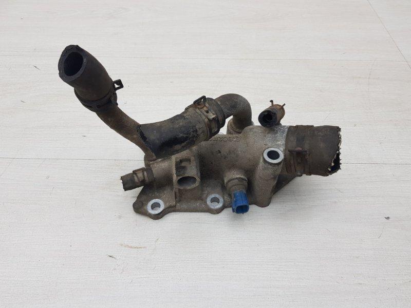 Фланец системы охлаждения Nissan Tiida C11 HR16DE 2011 (б/у)