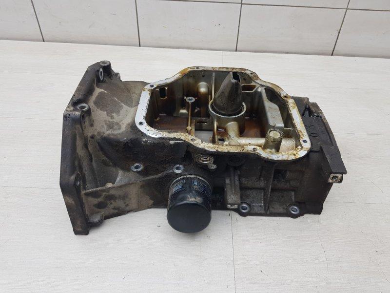 Поддон верхняя часть Nissan Tiida C11 HR16DE 2011 (б/у)