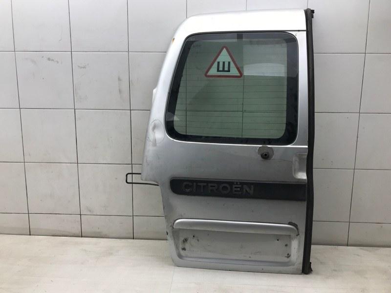 Дверь багажника Citroen Berlingo M59 TU3A 2007 левая (б/у)