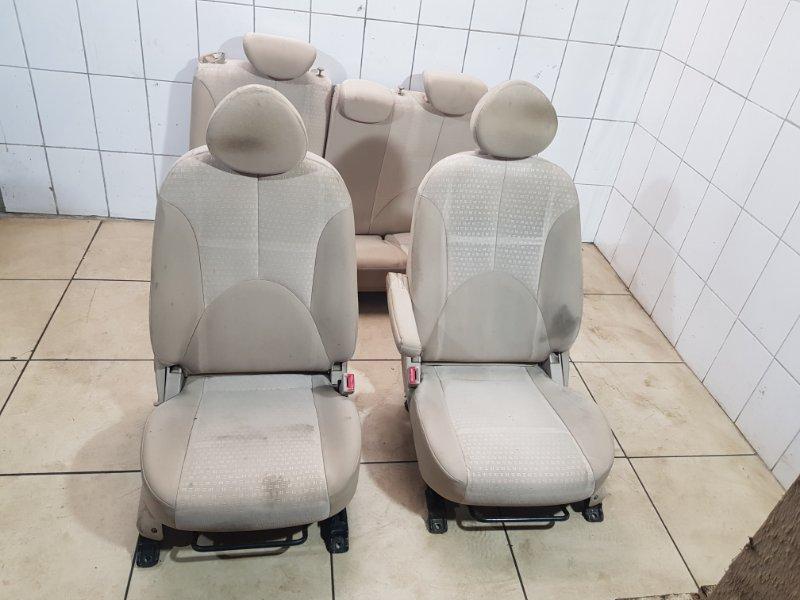 Комплект сидений Kia Rio 2 G4EE 2005 (б/у)