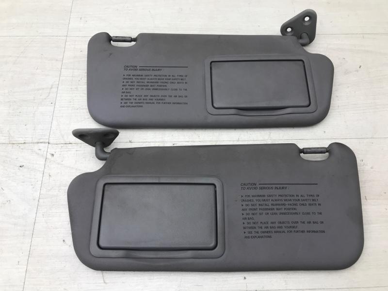 Солнцезащитные козырьки Hyundai Elantra 3 XD G4GB 2005 (б/у)