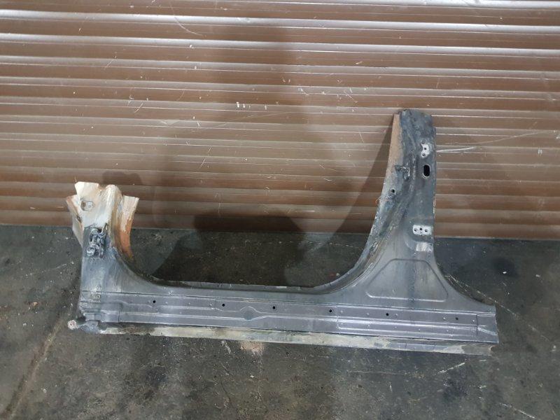 Порог левый Lexus Rx 3 GCL15 2GRFE 2010 (б/у)