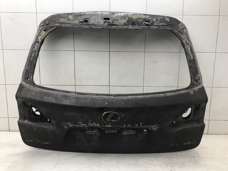 Крышка багажника Lexus Rx 3 GCL15 2GRFE 2010 (б/у)