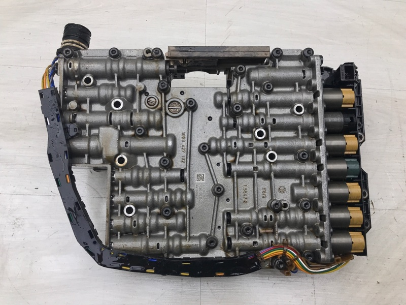 Блок клапанов акпп Audi A8 D3 BHT 2005 (б/у)