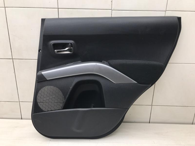 Обшивка двери задняя правая Peugeot 4007 4B12 2012 (б/у)