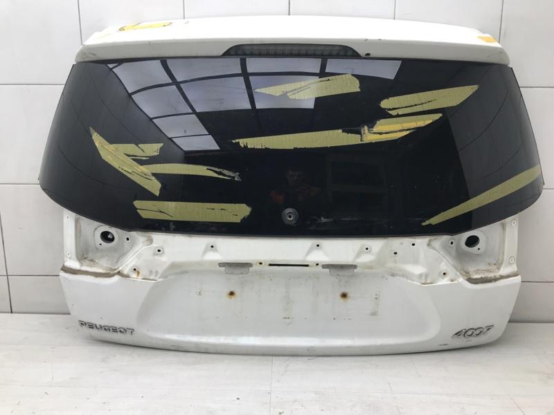 Крышка багажника Peugeot 4007 4B12 2012 (б/у)