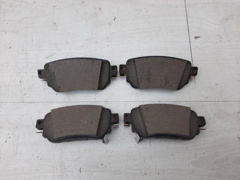 Тормозные колодки Renault Koleos