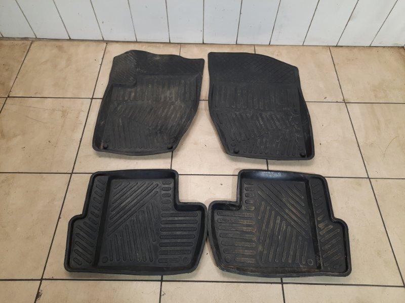 Коврики резиновые Peugeot 308 EP6 2010 (б/у)