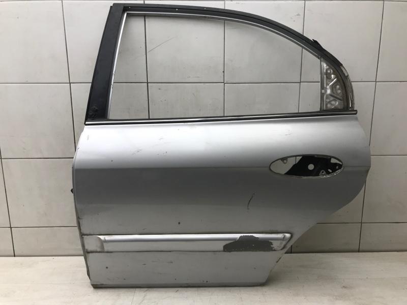 Дверь задняя левая Hyundai Sonata EF 5 G4JS 2004 (б/у)