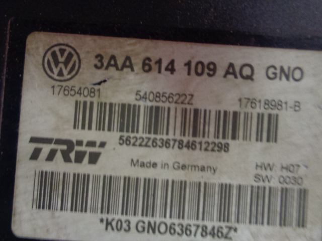 Блок abs Volkswagen Passat Cc 3C8 2012 (б/у)
