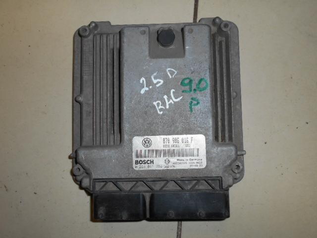 Блок управления двигателем Volkswagen Touareg 7L 2003 (б/у)
