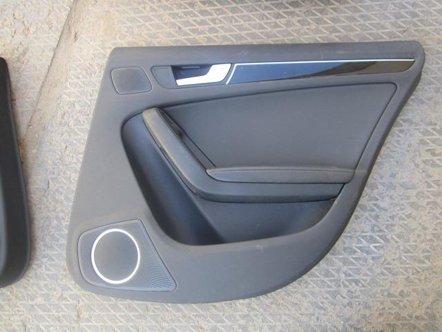 Обшивка двери Audi A4 2008 задняя правая (б/у)
