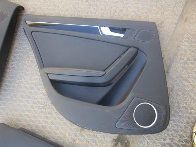 Обшивка двери Audi A4 2008 задняя левая (б/у)